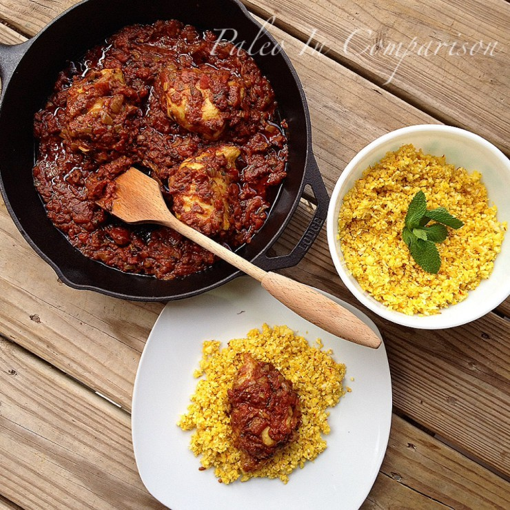 Guest Post: Paleo In Comparison, Chicken Biryani with Saffron Cauli Rice
