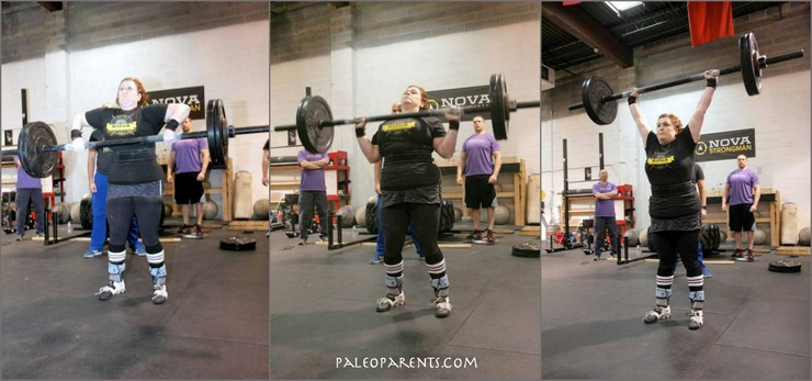 Stacy is NOVA Strongest HW Woman - Press Medly - PaleoParents