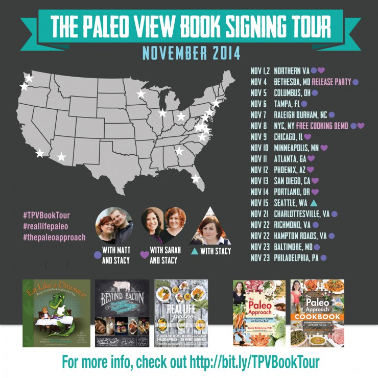TPVBookTour with Paleo Parents and The Paleo Mom