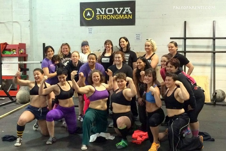 The AWESOME ladies of NOVA Strongest Woman - PaleoParents