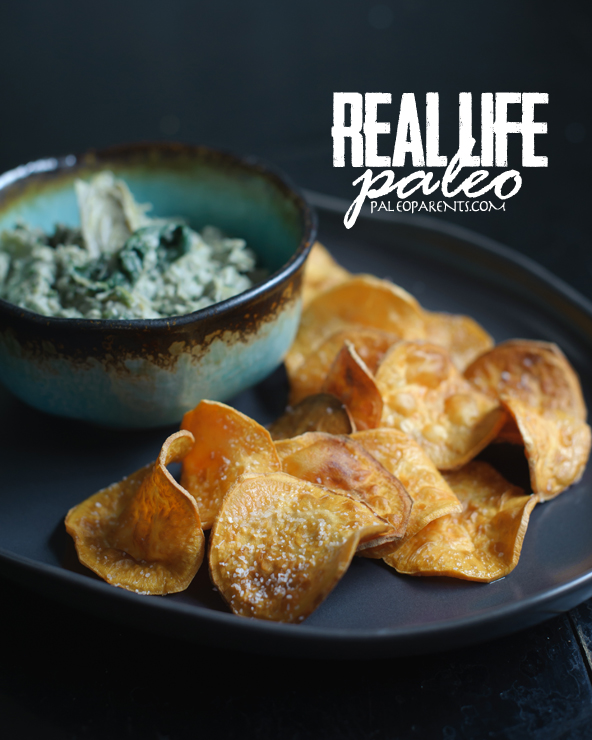 Chips and Dip from Real Life Paleo by PaleoParents