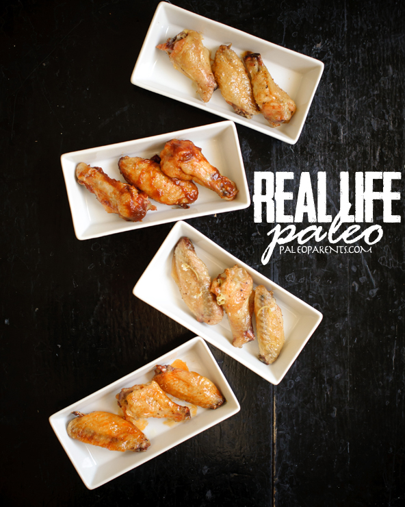 Crispy Baked Wings from Real Life Paleo by PaleoParents