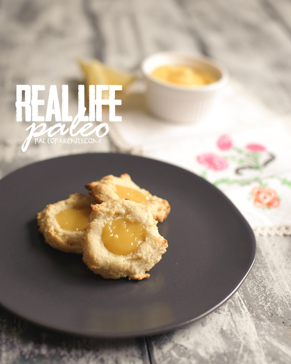 Lemon Drop Cookies from Real Life Paleo by PaleoParents