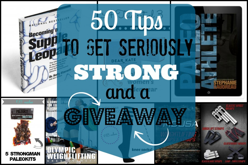 50 Tips for Getting Seriously Strong