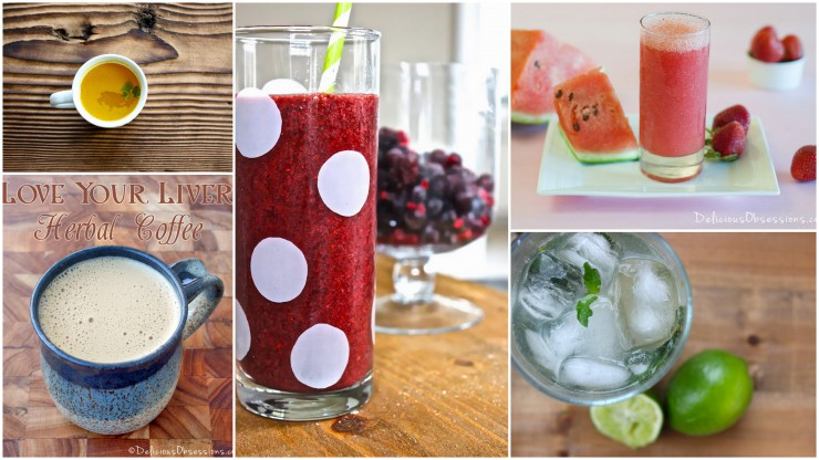 AIP Beverage Collage