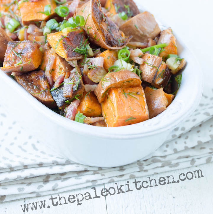 Guest Post: Bacon Lime Sweet Potato Salad from The Paleo Kitchen Cookbook