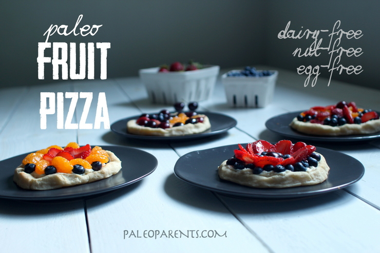 Fruit Pizza on Paleo Parents