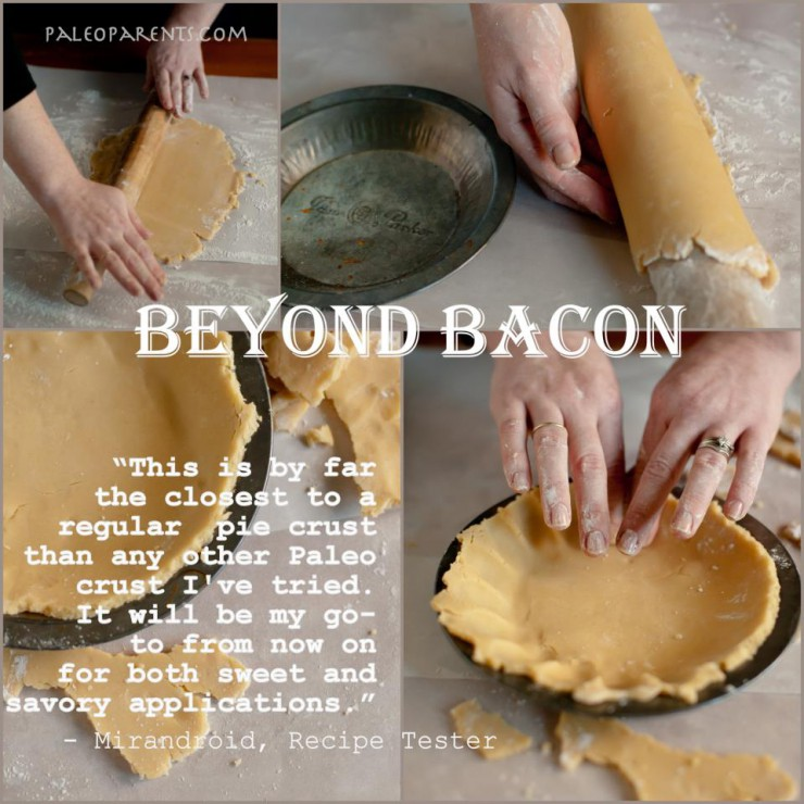 Lard Pie Crust Quote from BeyondBacon by PaleoParents