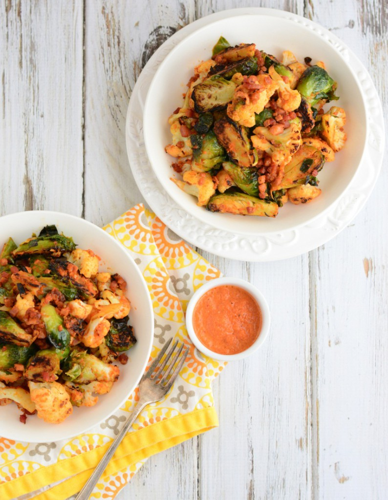 elevated brussels sprouts long