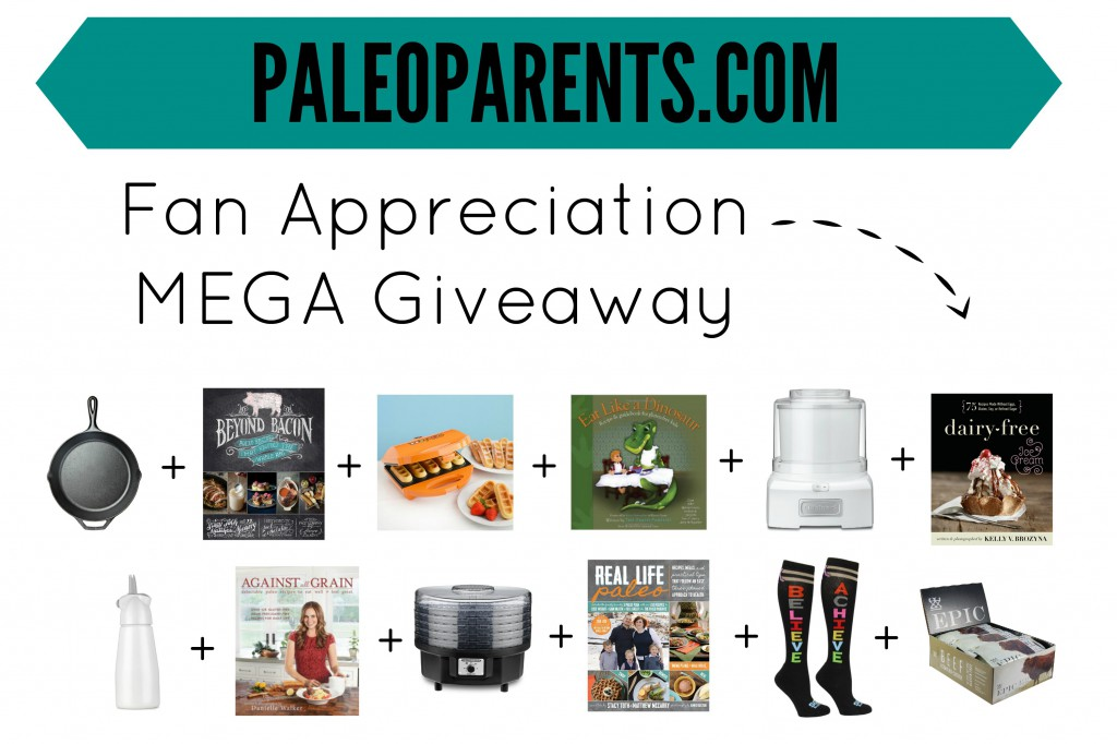 Fan Appreciation MEGA Giveaway!