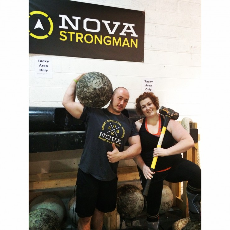 Mike & Stacy at NOVA Strong on PaleoParents