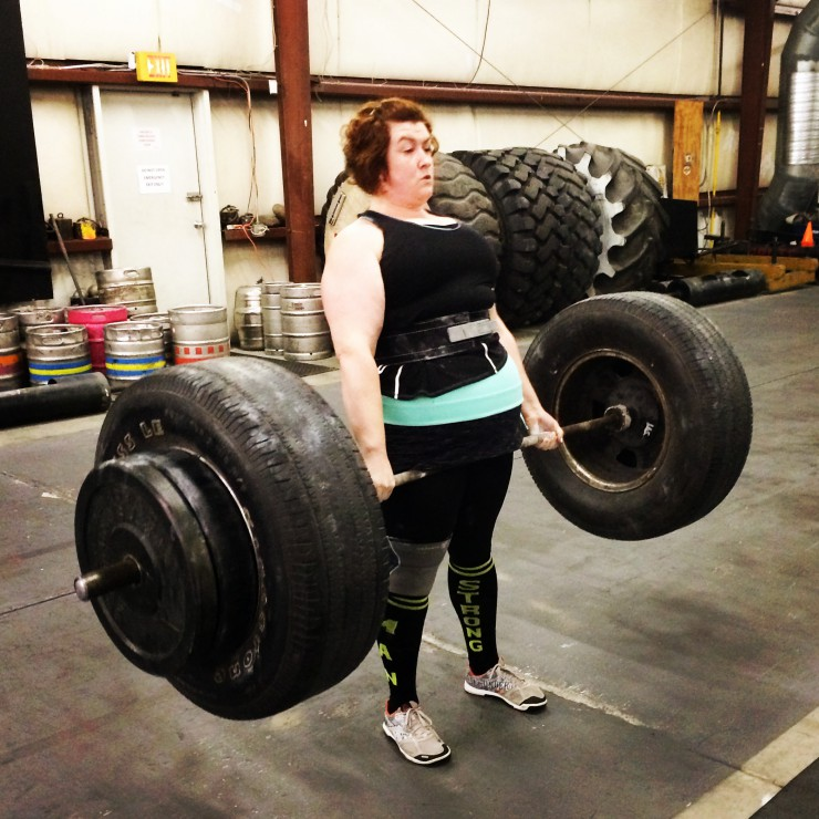 Stacy Lifts at Brute on PaleoParents