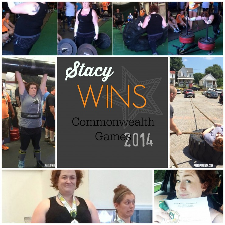 Stacy Wins Commonweath Games 2014