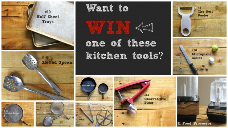 Want to Win one of these kitchen tools