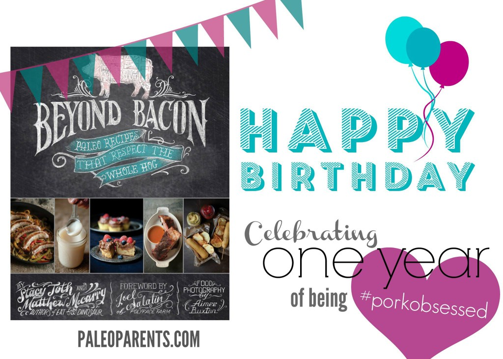 Happy 1st Birthday, Beyond Bacon!