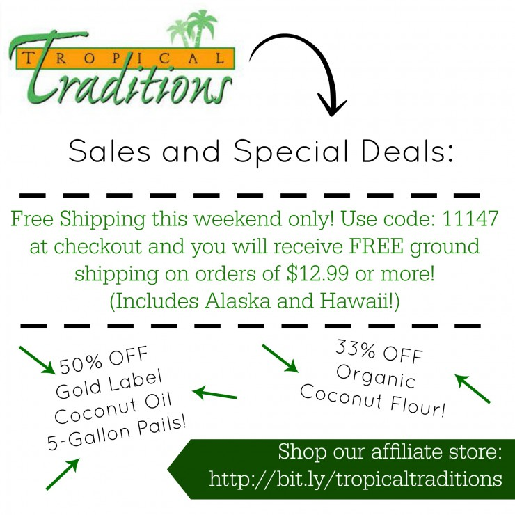 tropical traditions weekend coupon