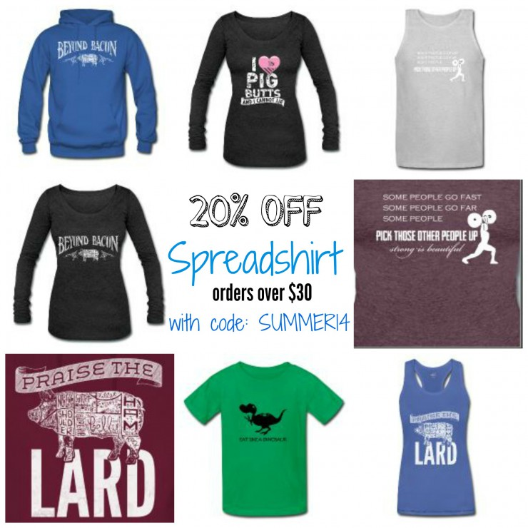 Spreadshirt 20off