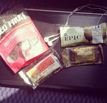 plane food