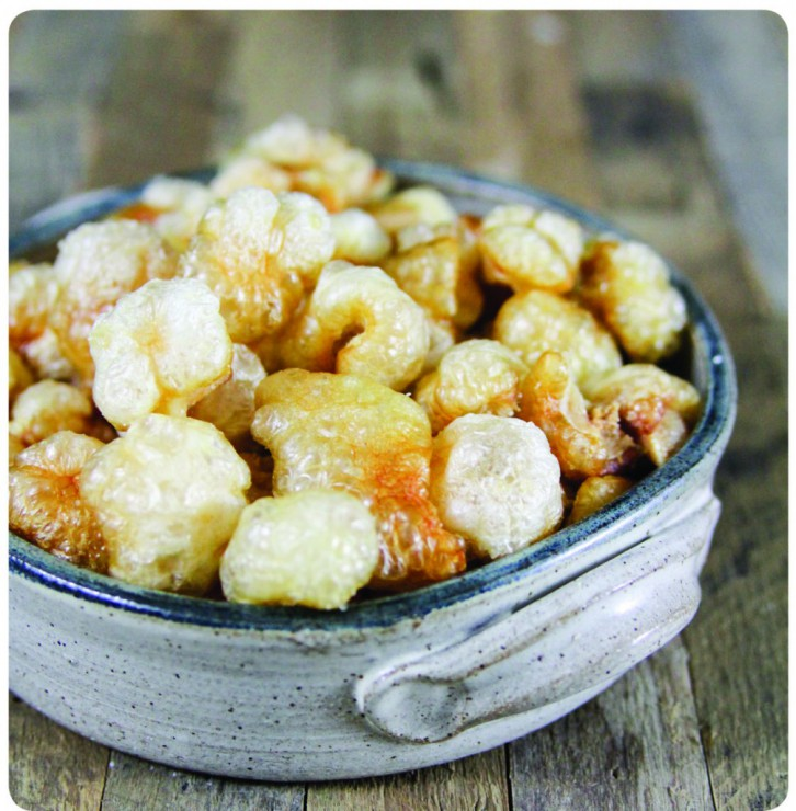 Pork Rinds from The Paleo Approach Cookbook, by The Paleo Mom