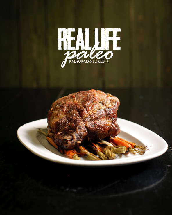 Slow Roasted Pork Shoulder from Real Life Paleo by Paleo Parents