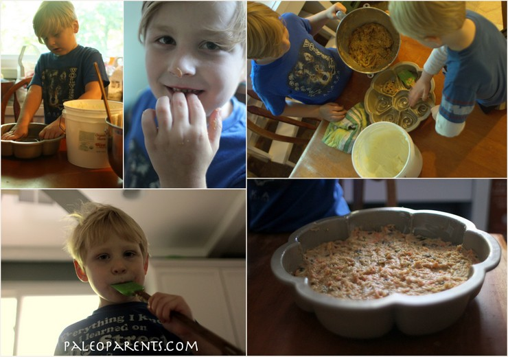 Autumn Breakfast Cake by the Paleo Parents boys