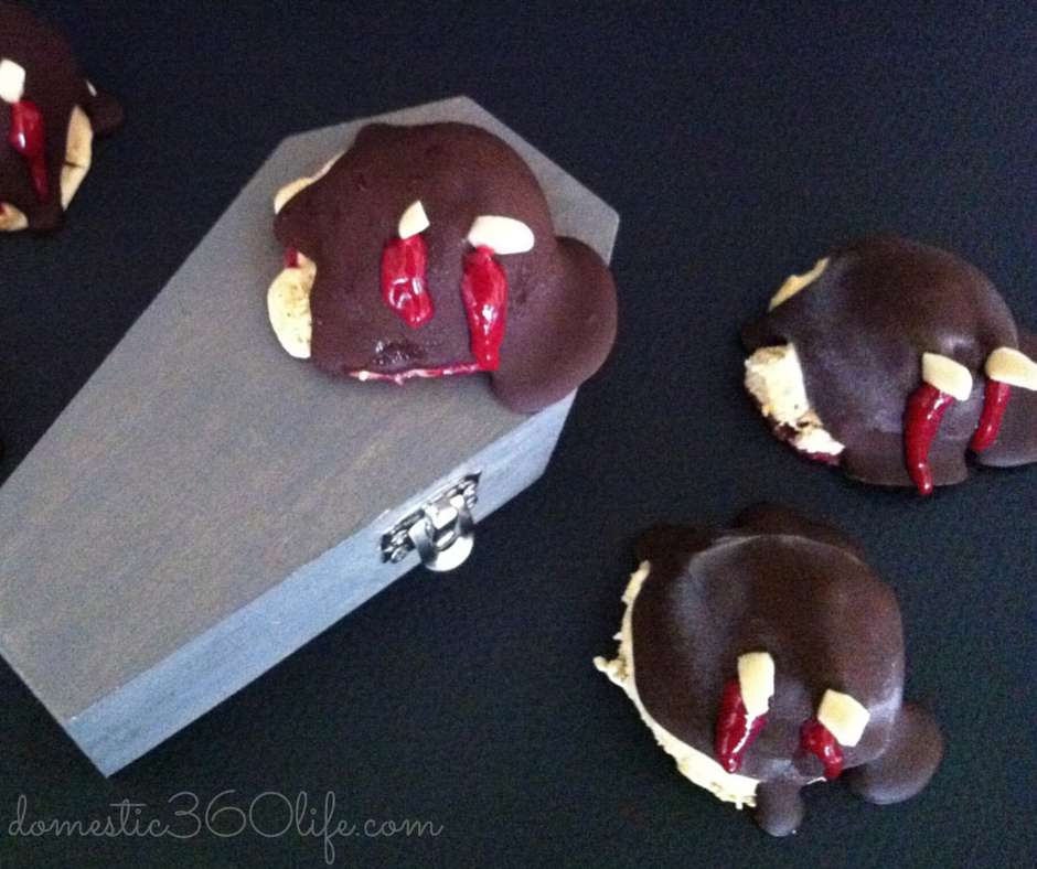 Guest Post: Pumpkin Ice Cream Vampire Balls by Domestic 360