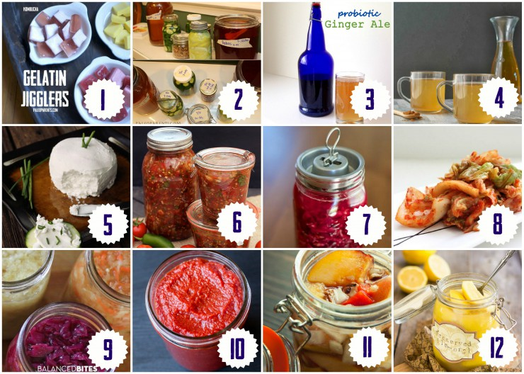 Healing Fermented Foods Round Up on Paleo Parents