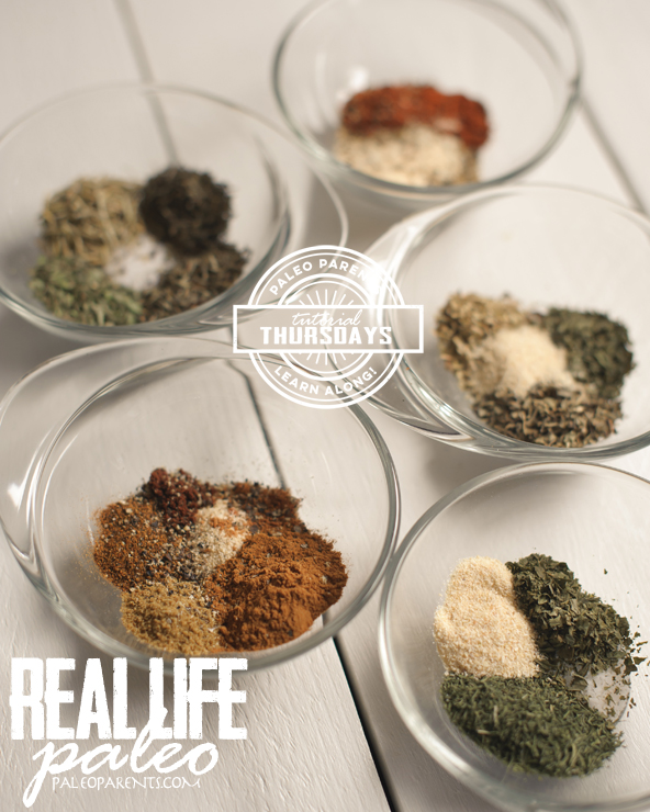How To Spice Blends Tutuorial on PaleoParents from Real Life Paleo