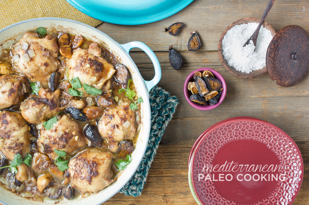 Review: Mediterranean Paleo Cooking's Fig and Ginger Chicken Tajine