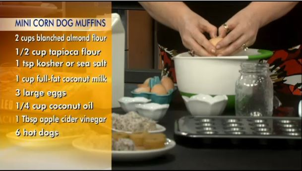 We're On TV with Mini Corn Dog Muffins from Real Life Paleo