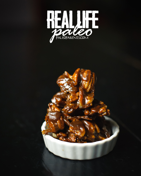 Pecan Pralines from Real Life Paleo by Paleo Parents