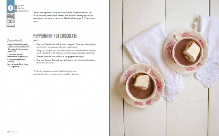 Peppermint Hot Chocolate Recipe from Real Life Paleo by Paleo Parents