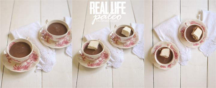 Peppermint Hot Chocolate from Real Life Paleo