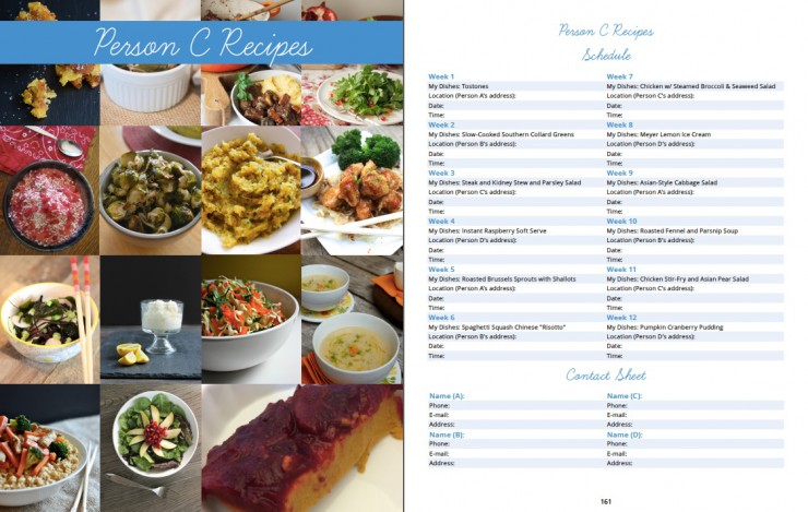 Person Schedule from Paleo Approach Dinner Club by Paleo Parents