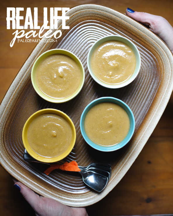Pumpkin Pudding from Real Life Paleo by Paleo Parents