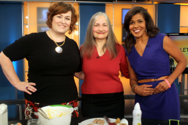 Susan of Polyface and Stacy of Paleo Parents on Lets Talk Live
