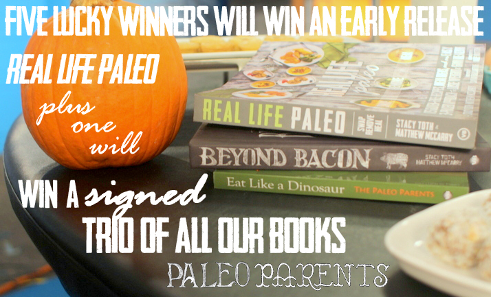 Win a Trio of Paleo Parents books including the new Real Life Paleo