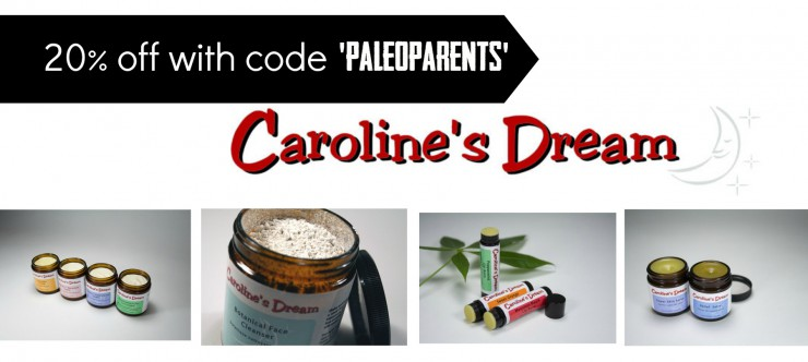 Caroline's Dream Coupon on PaleoParents