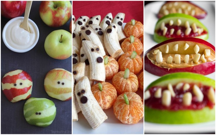 halloween fruit ideas fruit crumble