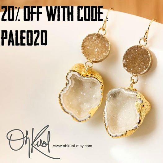 20% off OhKuol Jewelry on PaleoParents