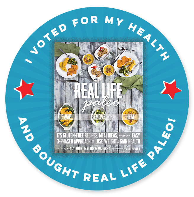 I Voted for Health with Real Life Paleo by Paleo Parents