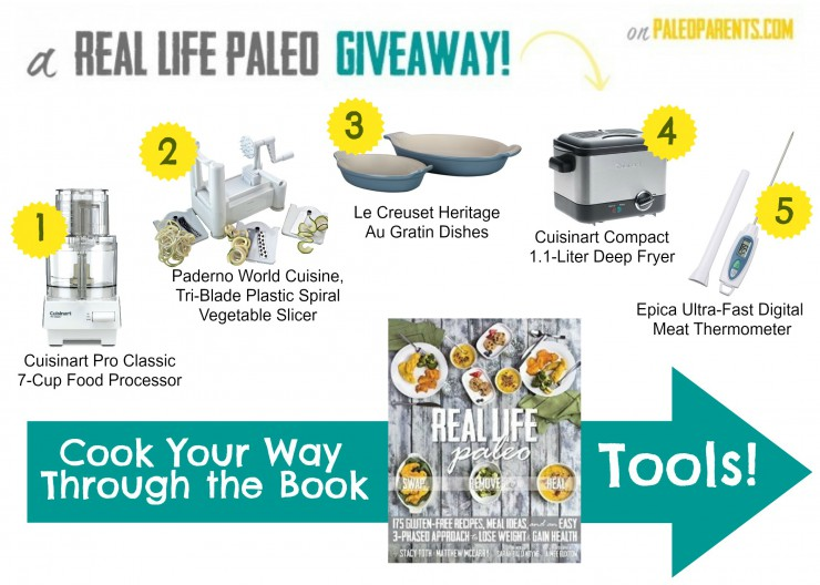 RLP Giveaway, Cook Your Way Through the Book: Tools