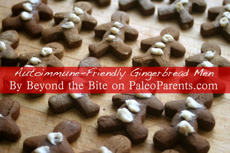 Beyond the Bite Guest Post Autoimmune Gingerbread Men