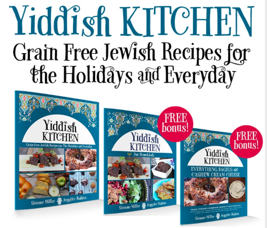 Hannukah Round Up on Paleo Parents, Yiddish Kitchen E-Book, Buy Now for 2 Bonus Books
