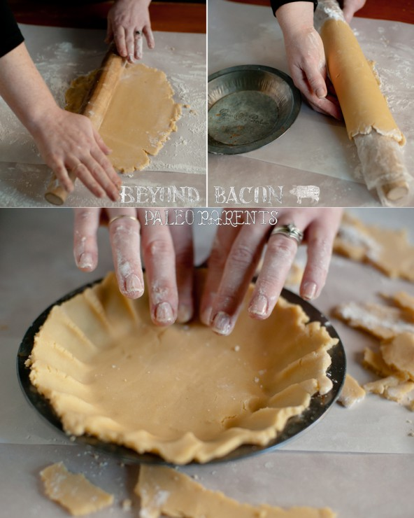 Lard Pie Crust from BeyondBacon by PaleoParents