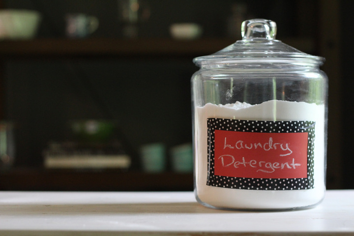 Laundry Detergent, DIY Non-Toxic Cleaning Recipes, Family Resolution Revolution