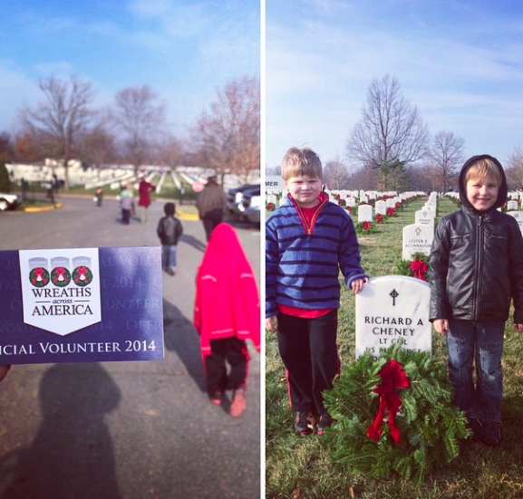 Instagram arlington cemetery wreaths paleo parents