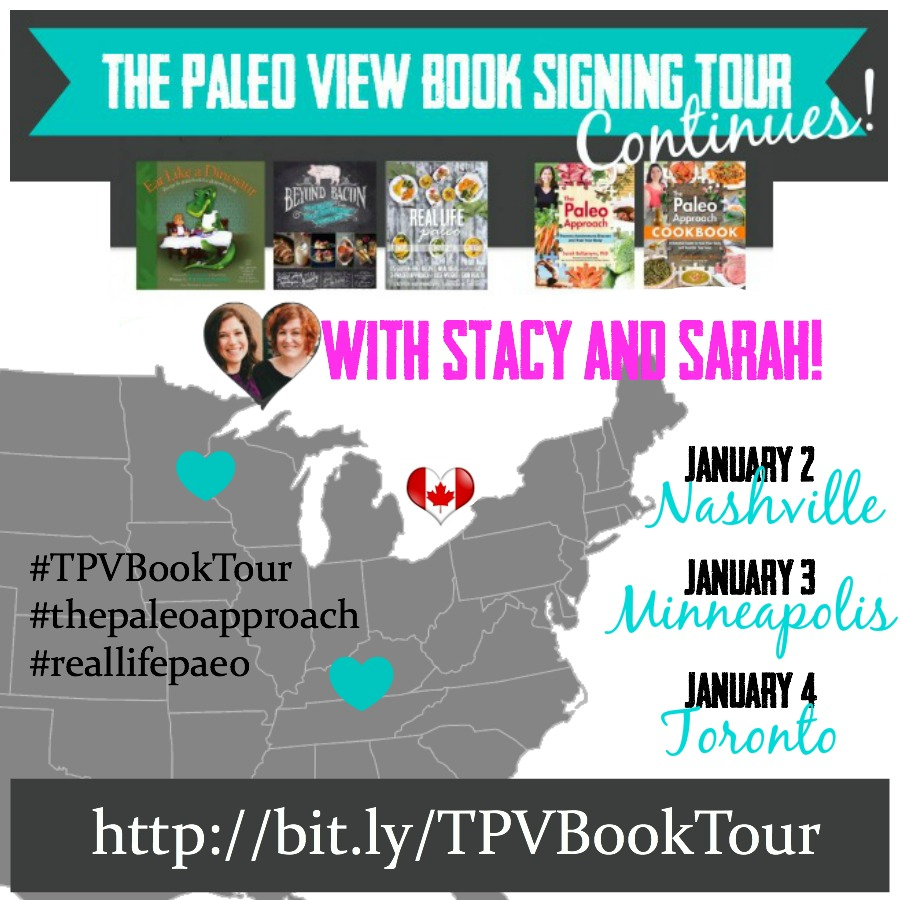 TPV Book Tour Continues January, Paleo Parents