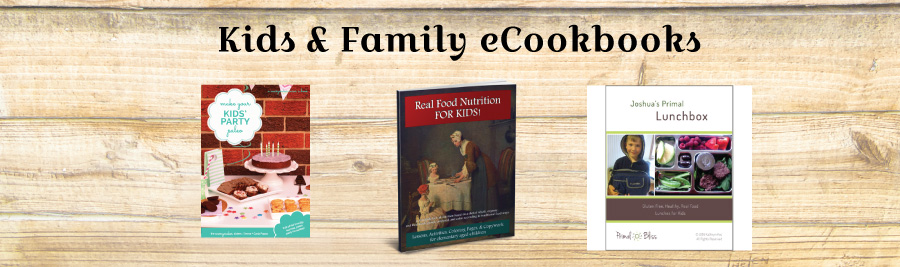 Family Resolution Revolution E-Bundle: Kids & Family eCookbooks