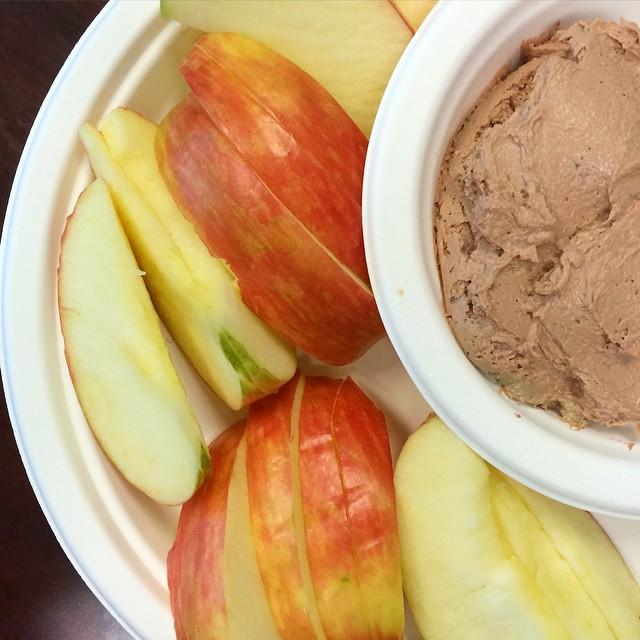 Chicken Liver Mousse with Apples, Paleo Parents